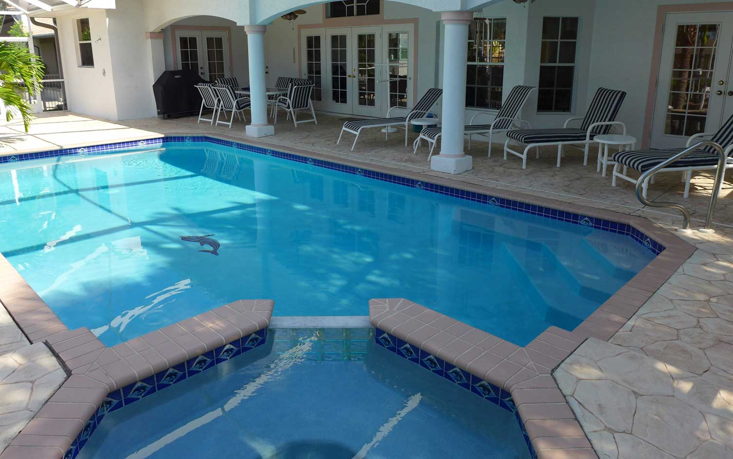 ferienhaus villa sophia cape coral florida lanai pool. Black Bedroom Furniture Sets. Home Design Ideas